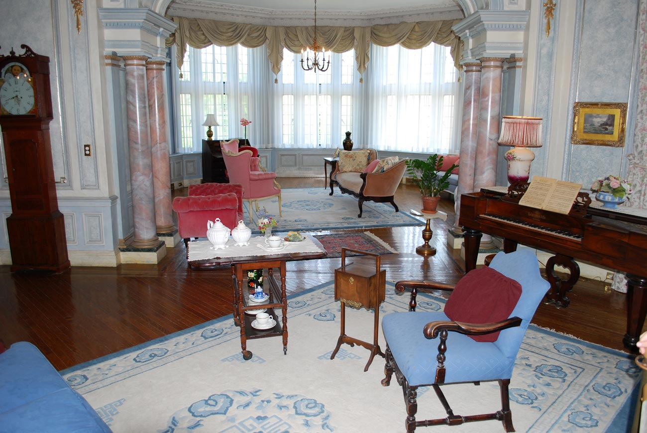antique living room