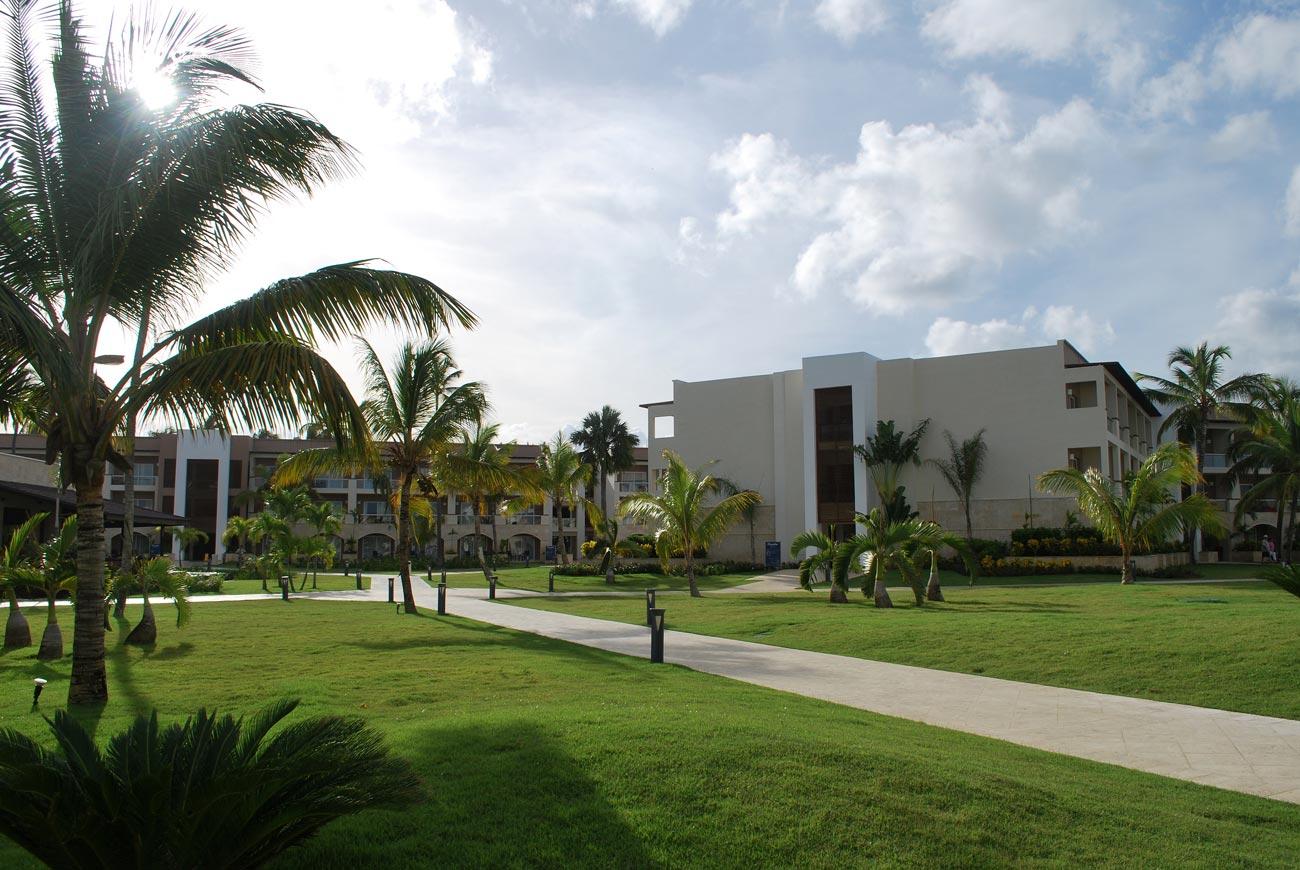 buildings in resort