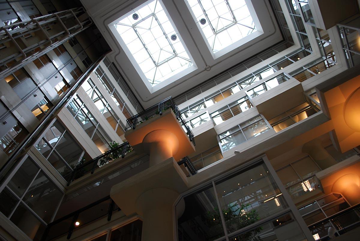 inside of business center