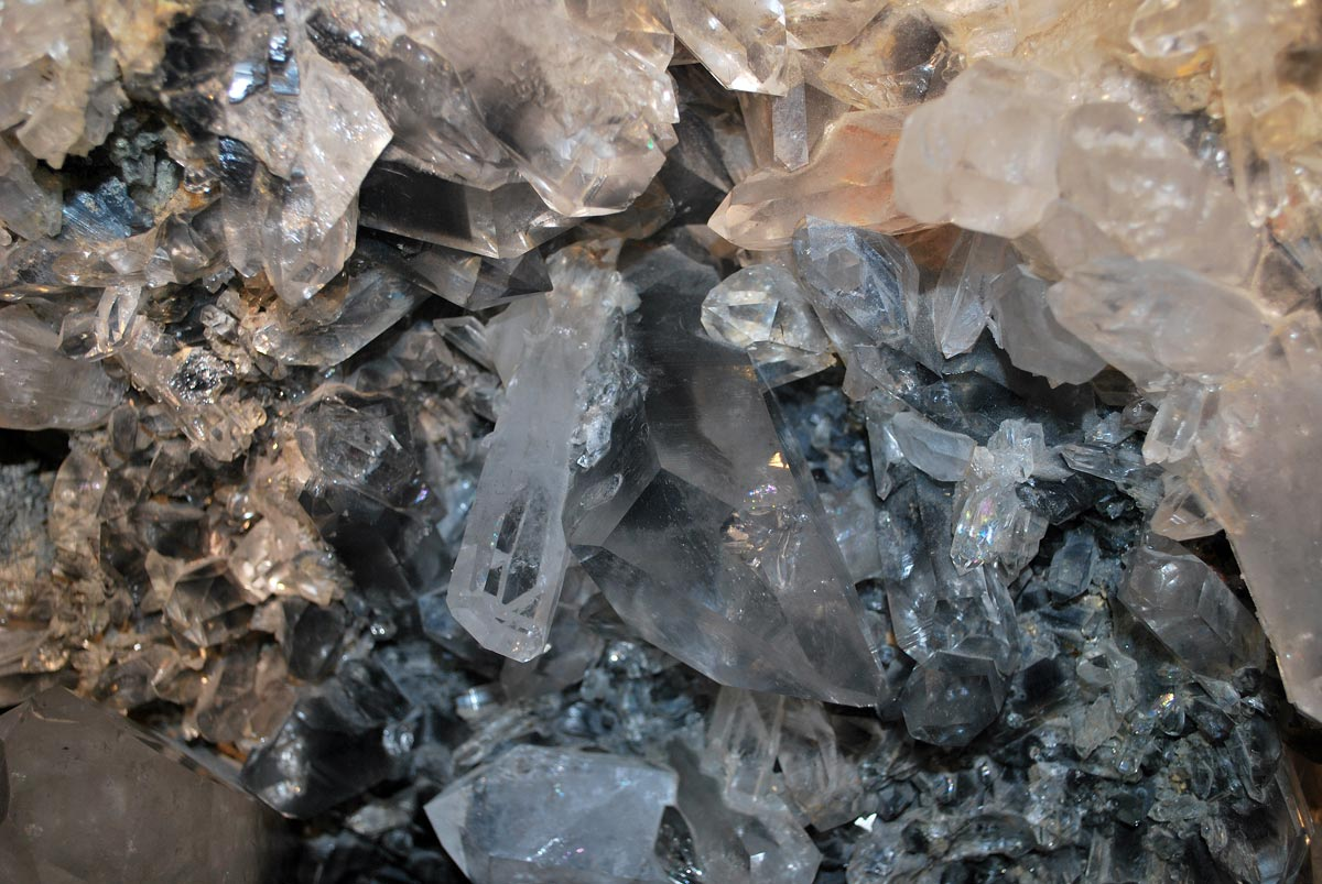 crystal mineral background