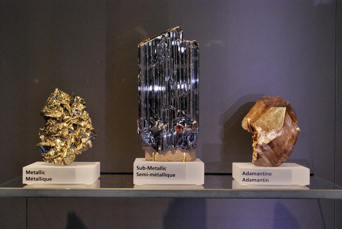 metalic and adamanite minerals