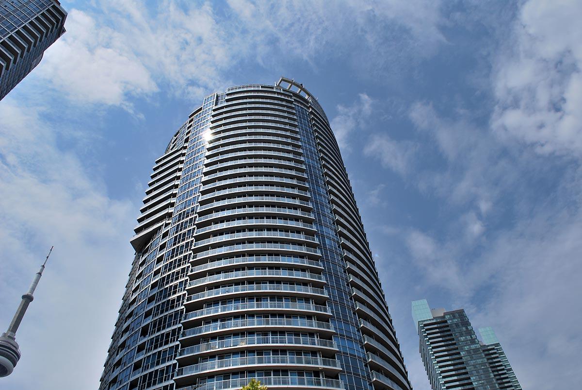 city business building