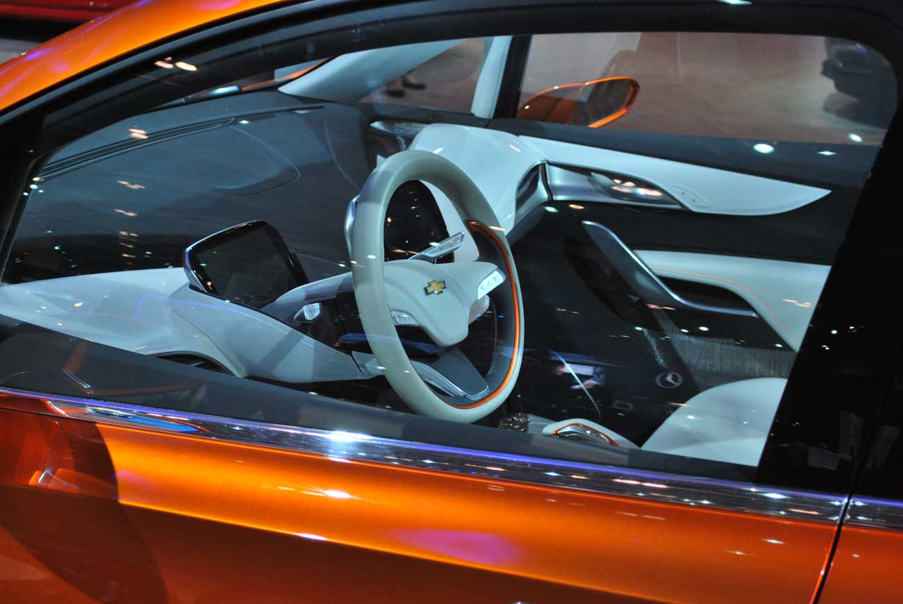 inside car view