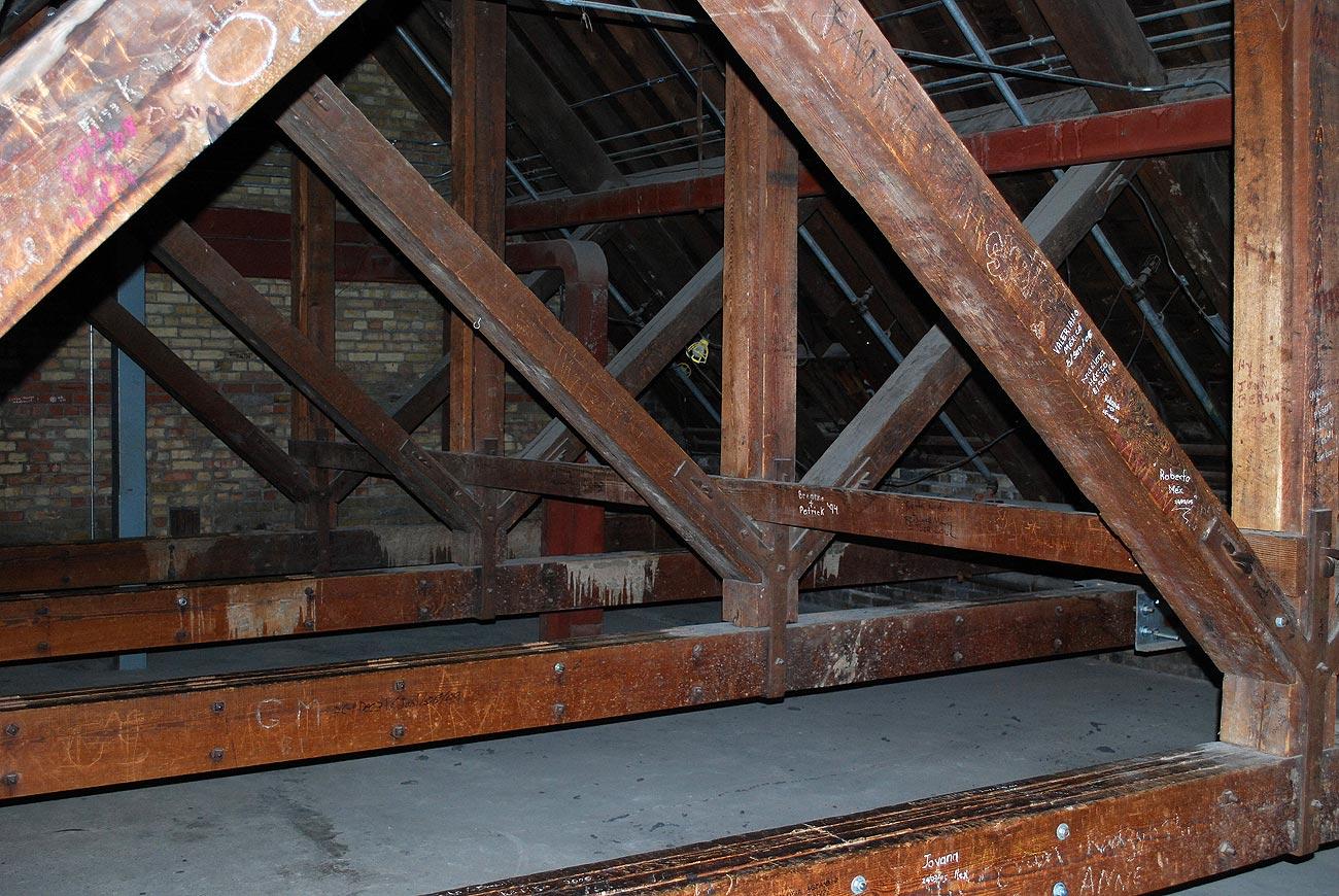 dusty attic