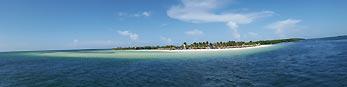 caribbean island panorama