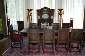 antique dining furniture