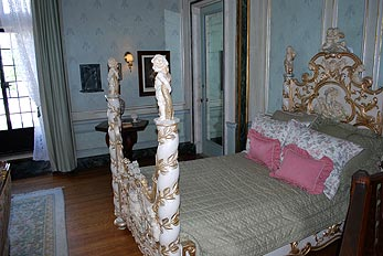 stylish antique bedroom