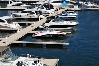 boats at dock