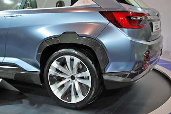 hatchback rear view