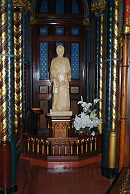 statue in church