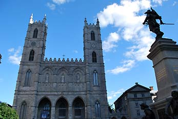 the basilique montreal