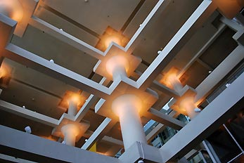 lights in mall
