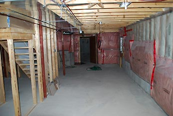 basement room