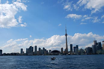 toronto view from ontario lake