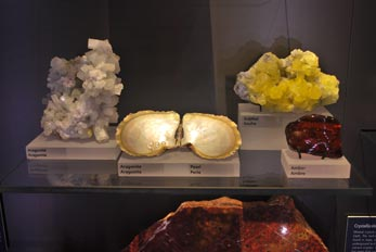 pearl and sulphur minerals