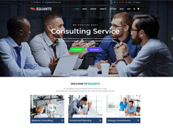 Business WordPress Theme - Equanto