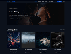 Entertainment Joomla Template  - AT Cinema
