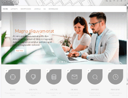Business Joomla Template - OL Corporate