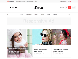 Fashion Joomla Template  - JD Stylo