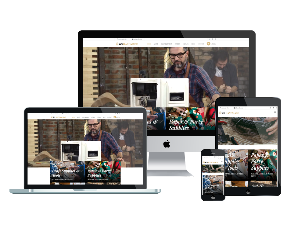 Artisan Wordpress mobile theme