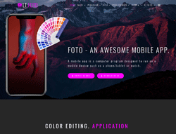 Application Joomla template - LT Foto