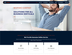 Financial Joomla Template - LT Loan