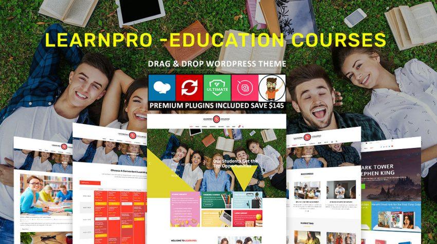 Education WordPress Theme Features