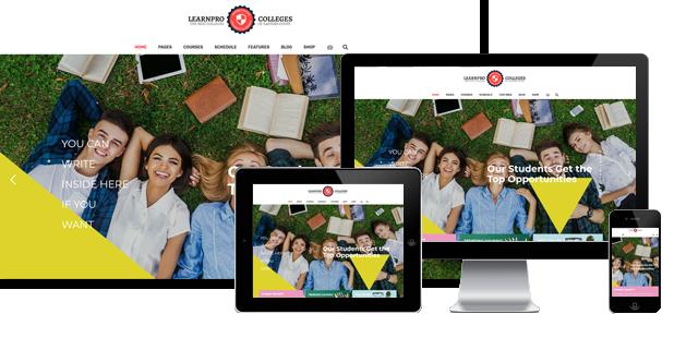 Learnpro - Education Joomla Template