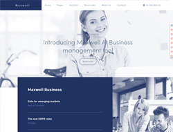 Business Joomla Template - Maxwell