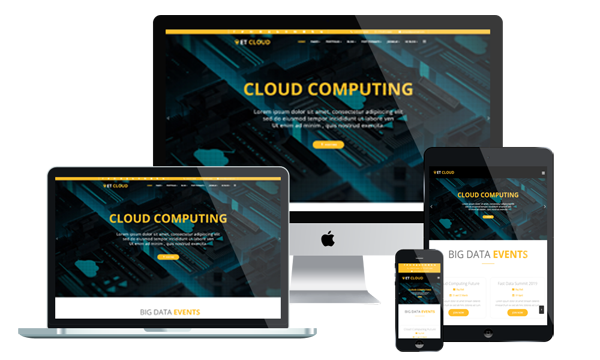 ET Cloud - Hosting Joomla Template