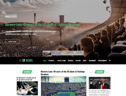Magazine Joomla Template - ET News