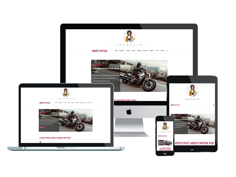Motor Joomla Template Layout