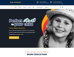 Education Joomla Template - ET Primary
