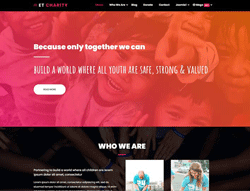 Charity Joomla! Template - ET Charity