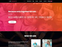 Charity Joomla! Template - ET Charity