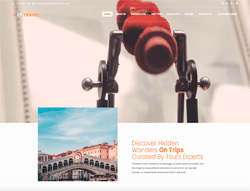 Travel Agency WordPress Theme - ET Travel