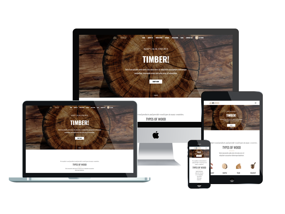 Carpenter Wordpress mobile theme