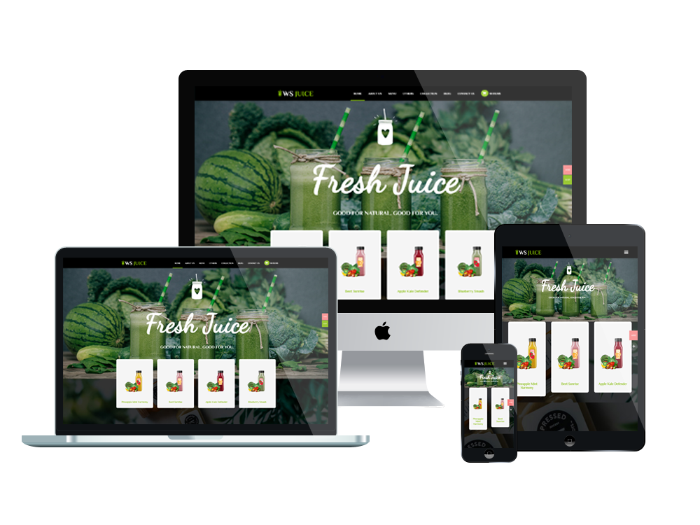 Smoothie WooCommerce Wordpress mobile theme