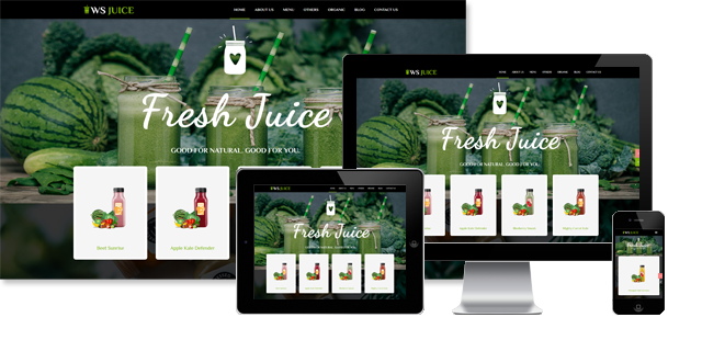 WS Juice - Smoothie WordPress Theme