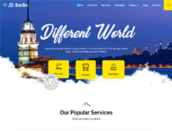 Travel Agency Joomla Template - JD Berlin