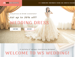 Wedding WooCommerce WordPress Theme - WS Wedding