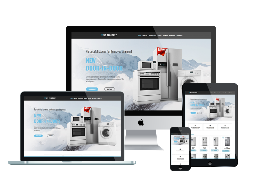 Electronics Wordpress mobile theme