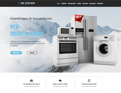 Electronics Woocommerce WordPress Theme - WS Electaxy