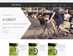 Bike Woocommerce WordPress Theme - WS Bikes