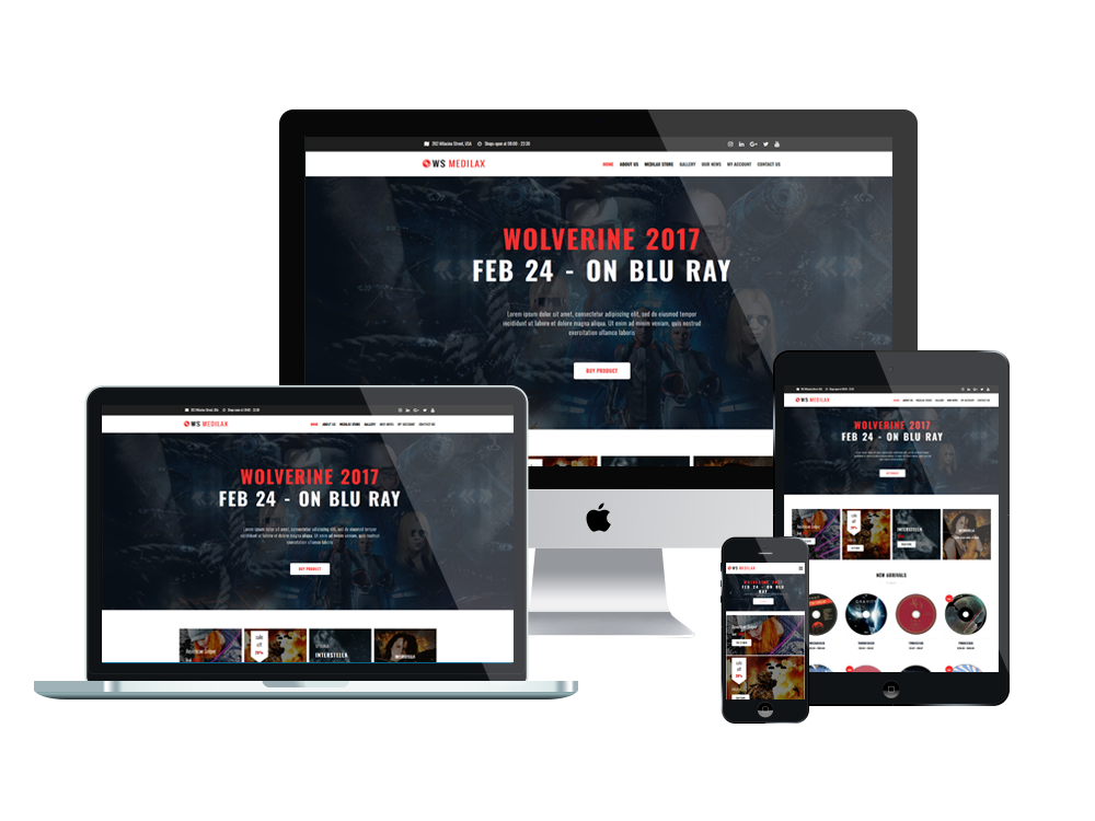 Digital Store Wordpress mobile theme