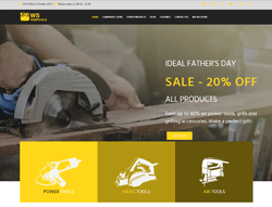 Equipment WooCommerce WordPress Theme - WS PowTools