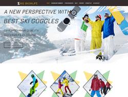 Snowboarding WooCommerce WordPress Theme - WS Snowlife