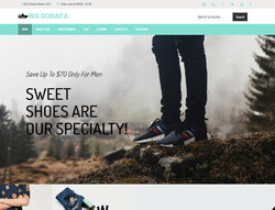 Shoes Store WooCommerce WordPress Theme - WS Sobafa