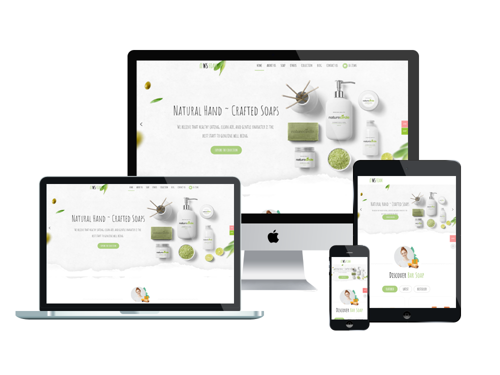 Beauty Store WooCommerce  Wordpress mobile theme