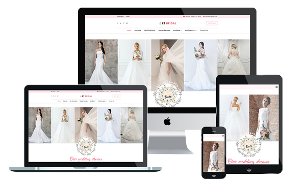 ET Bridal - Wedding WordPress Theme
